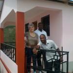 Lénéus Joseph, partenaire ASEDECC (à droite)
