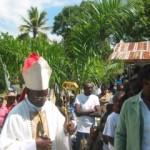 Arrivée de Monseigneur St Hillien